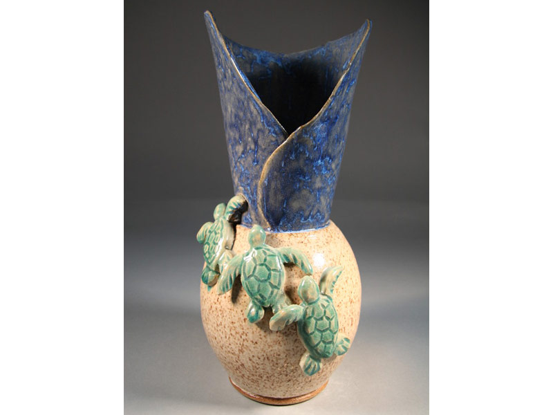 River Clay artist Rick Adams