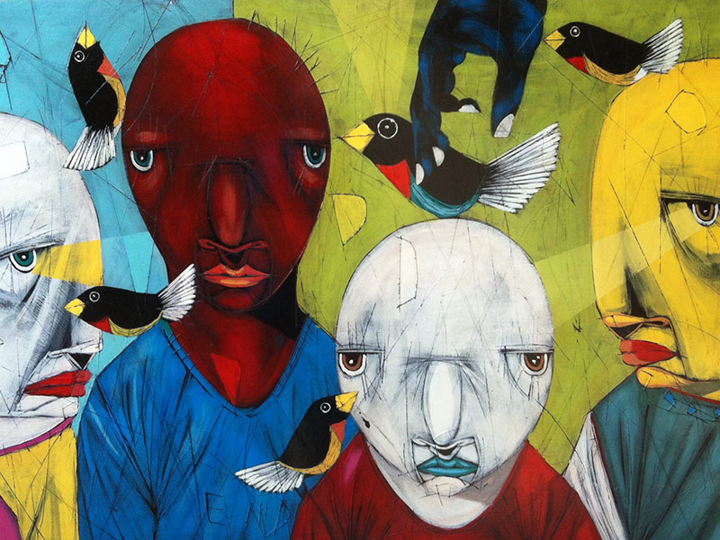 River Clay artist Michael Banks