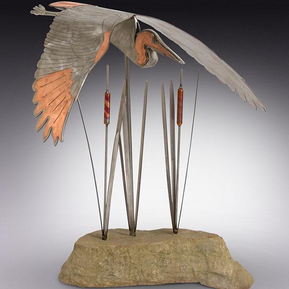 Scot and Laura Kellersberger Sculpture
